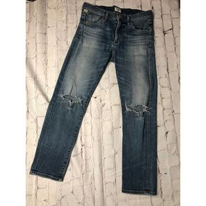 Citizens of Humanity Agnes Crop MidRise Slim Jeans